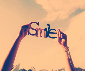 smile, sky, and happy image