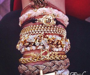 bracelet and gold image