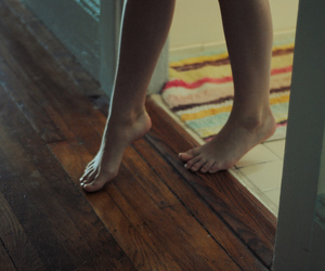 feet, vintage, and home image