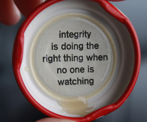 quote, integrity, and text image