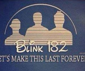 blink 182, disney, and band image