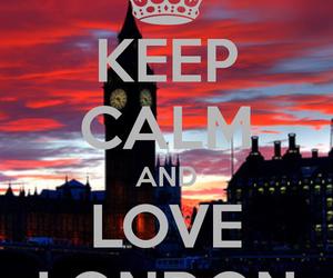 london, keep calm, and england image