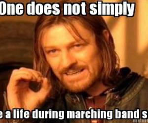 band, marching, and marching band image