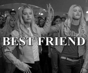 best friends, bff, and blond image