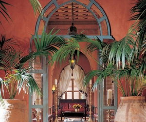 moroccan house and marakkech image