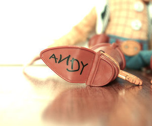 andy, toy story, and woody image