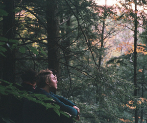 nature, boy, and girl image