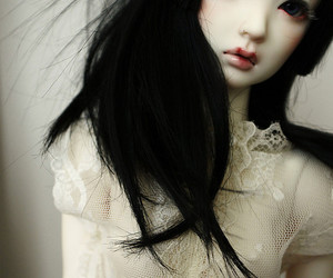 doll, bjd, and rosy image