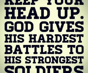 god, quotes, and strong image