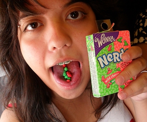 candy, tasty, and nerds image