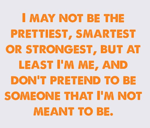 Life quotes / I am me! <3 on We Heart It