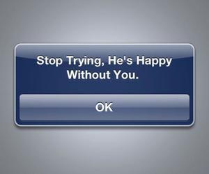 love, sad, and text image