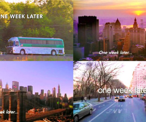 gossip girl, nyc, and one week later image