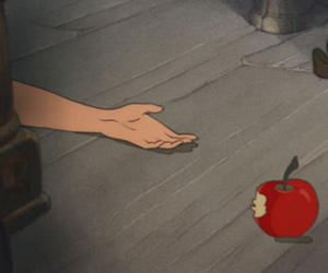 apple, snow white, and death image