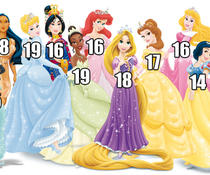 disney, princess, and age image