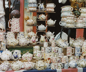lovely, tea, and teacup image