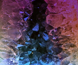 crystal and rock image