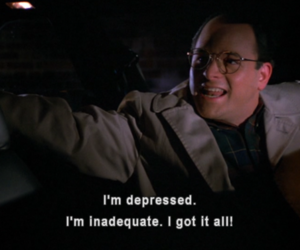 seinfield and george constanza image