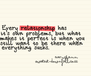 Relationship, quote, and problem image