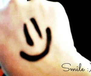 drawing, happy face, and smile image