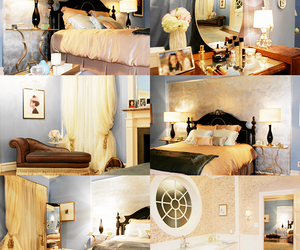 bedroom, blair waldorf, and gossip girl image