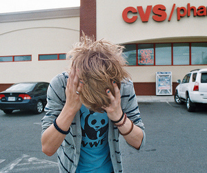 boy, hair, and blonde image
