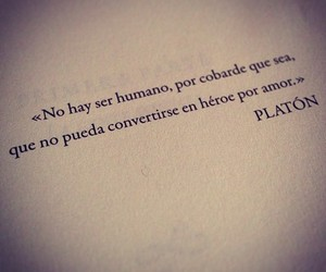 love, platon, and frases image