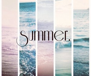 summer, sea, and beach image