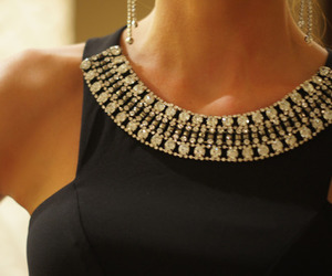 accessories, black and gold, and body image