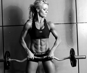 muscular, toned, and women image