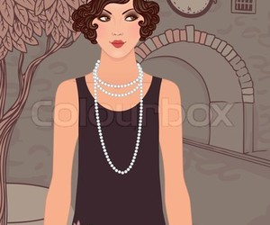 1920s, classic, and flapper image