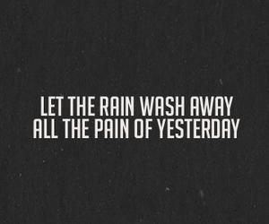 quote, Lyrics, and black and white image