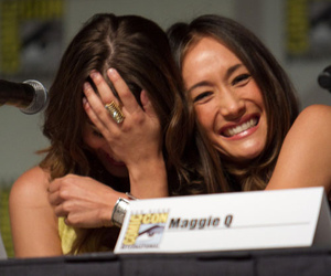 maggie q and lyndsy fonseca image