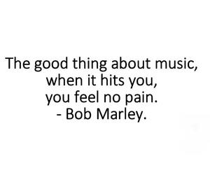 music, bob marley, and pain image