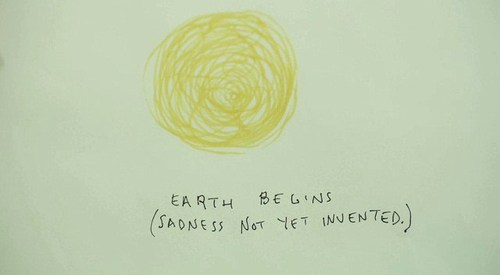 sadness, drawing, and quote image