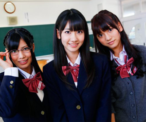 akb48, cosplay, and French Kiss image