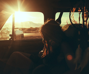 girl, photography, and car image