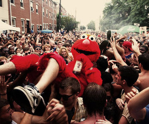 elmo, boy, and party image