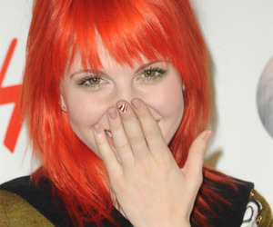 hayley williams, paramore, and hair red image