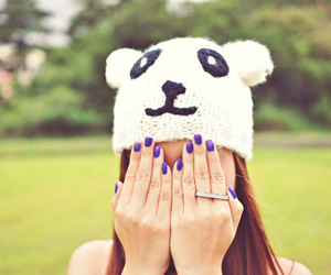 girl, cute, and nails image