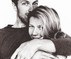 Chris Martin, gwyneth paltrow, and coldplay image