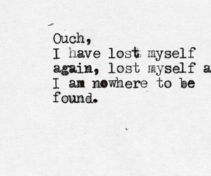 quote, lost, and breathe me image