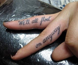 tattoo, fingers, and float image