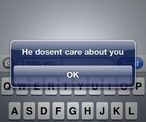 text, him, and message image