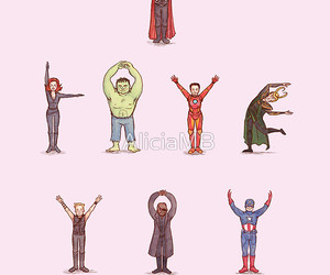 Avengers, Hulk, and Marvel image