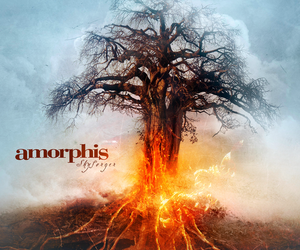 album cover, amorphis, and metal image