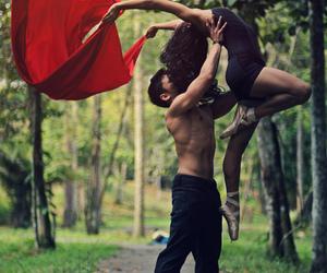 beautiful, dance, and girl image