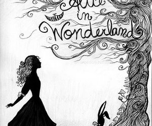 alice in wonderland, alice, and wonderland image