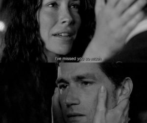 couple, evangeline lilly, and lost image
