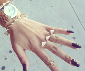 girly, watch, and jewelry image